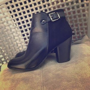 Black Booties / ankle boots